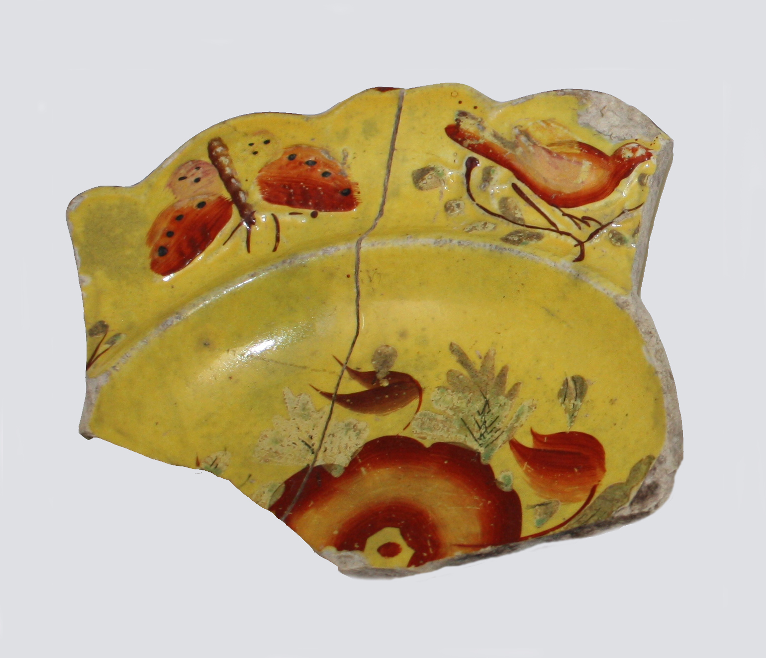 Canary Ware Fragment