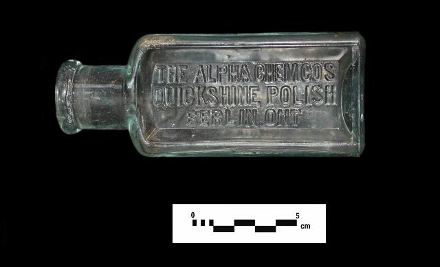 Berlin Ontario polish bottle.