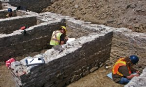 Foundation recording during a Stage 4 mitigation.