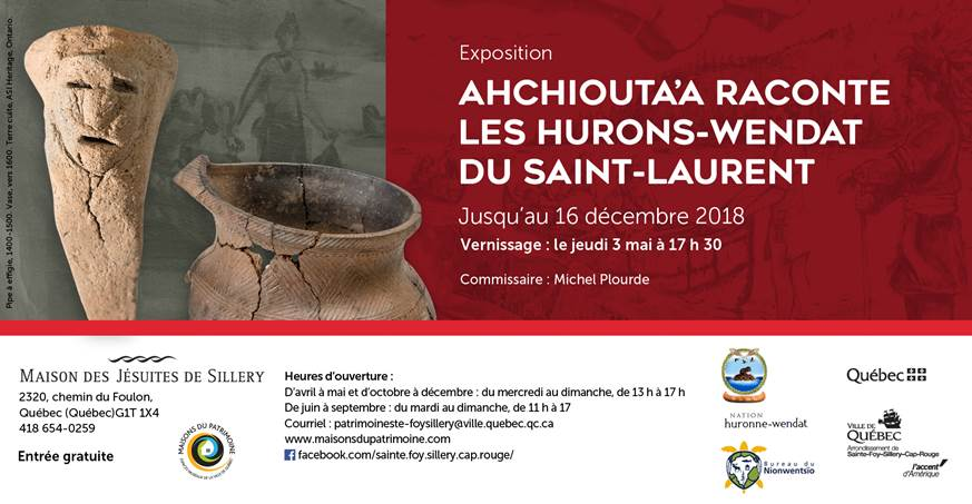 Quebec City Exhibition Ahchiouta'a recounts the history of the Huron-Wendat of the St. Lawrence