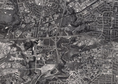 Aerial View of Don Mills in 1967